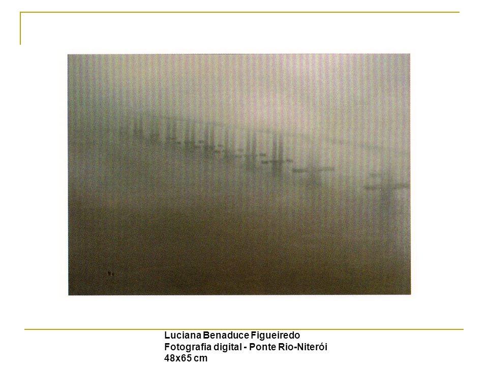 Luciana Benaduce Figueiredo Fotografia digital - Ponte Rio-Niterói 48x65 cm