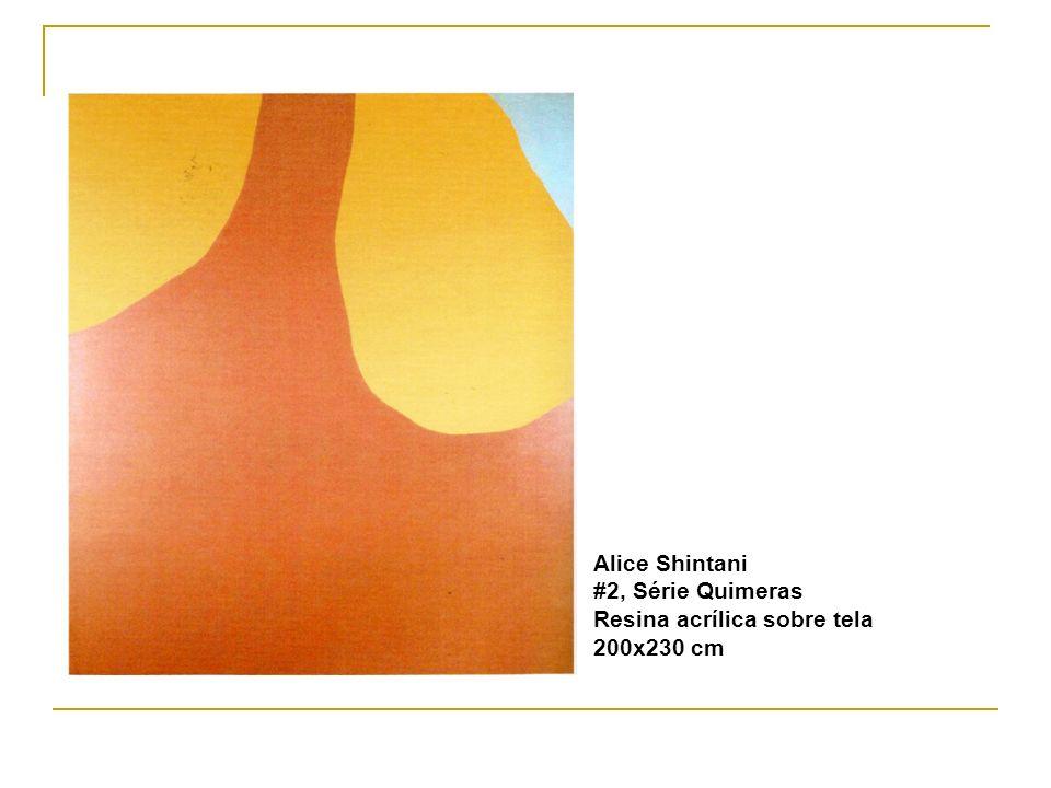 Alice Shintani #2, Série Quimeras Resina acrílica sobre tela 200x230 cm
