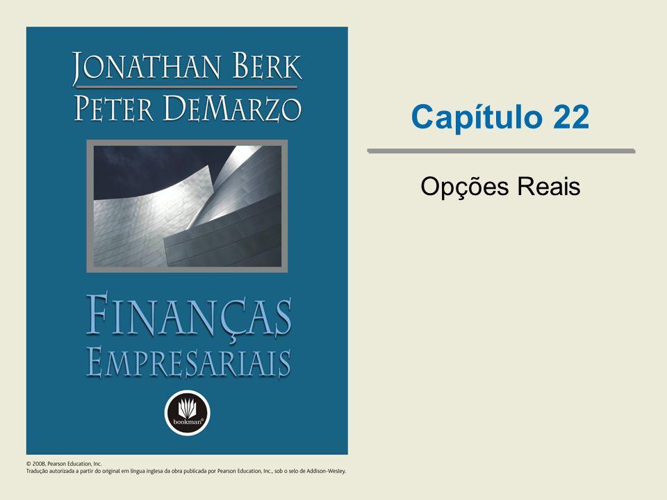 Capítulo 22 Opções Reais