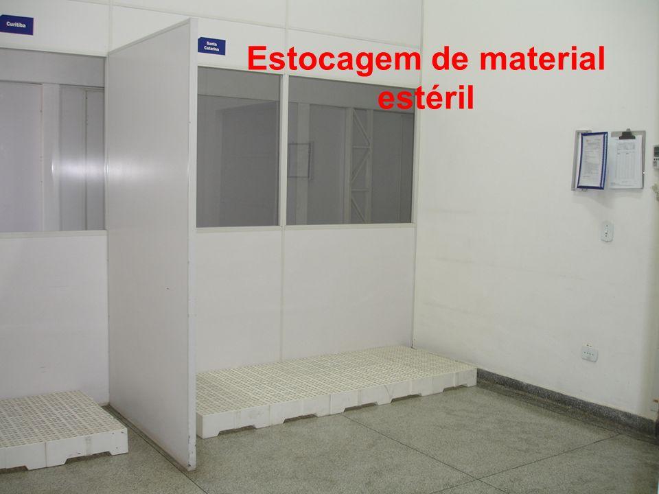 Estocagem de material estéril