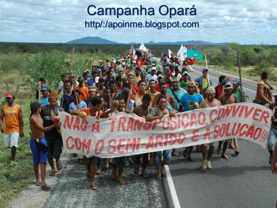 Campanha Opará http/:/apoinme.blogspot.com