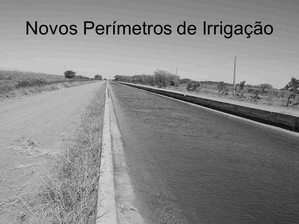 Novos Perímetros de Irrigação