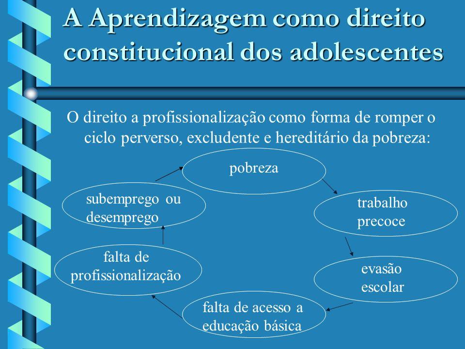 Reformulação do instituto da Aprendizagem -Lei 10.097/2000 Tal limite não se aplica quando o empregador for entidade sem fins lucrativos, que tenha por objetivo a educação profissional