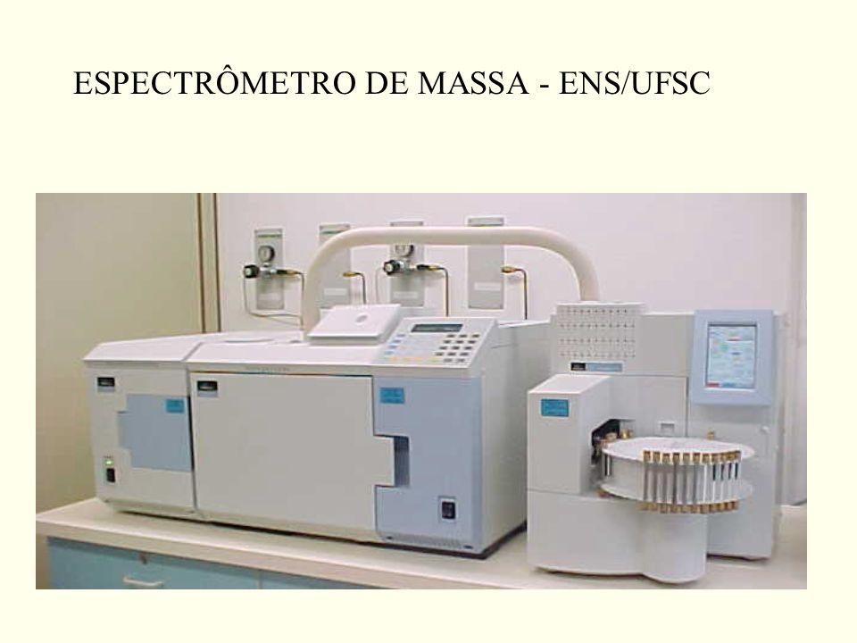ESPECTRÔMETRO DE MASSA - ENS/UFSC