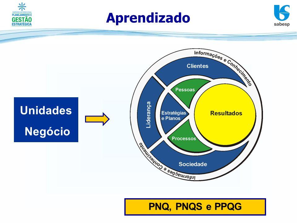 Aprendizado Unidades Negócio PNQ, PNQS e PPQG