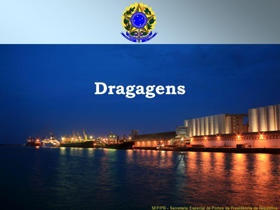 SEP/PR – Secretaria Especial de Portos da Presidência da República Dragagens