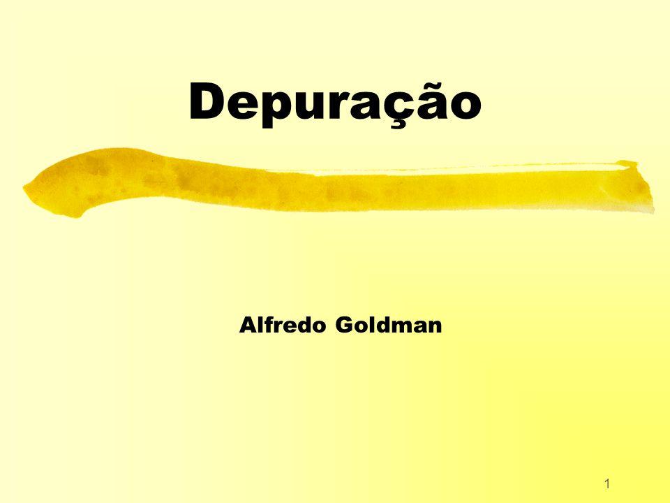 1 Depuração Alfredo Goldman