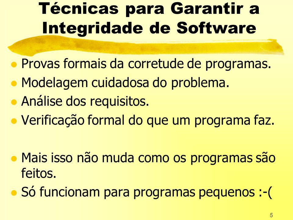 5 Técnicas para Garantir a Integridade de Software l Provas formais da corretude de programas.