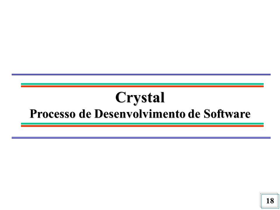 18 Crystal Processo de Desenvolvimento de Software