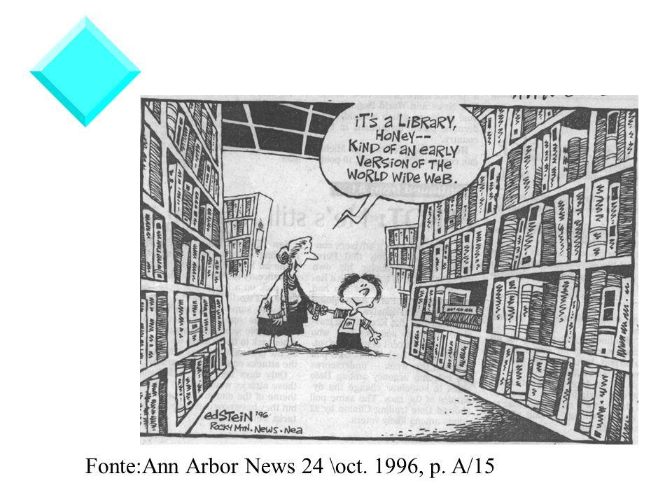 Fonte:Ann Arbor News 24 \oct. 1996, p. A/15