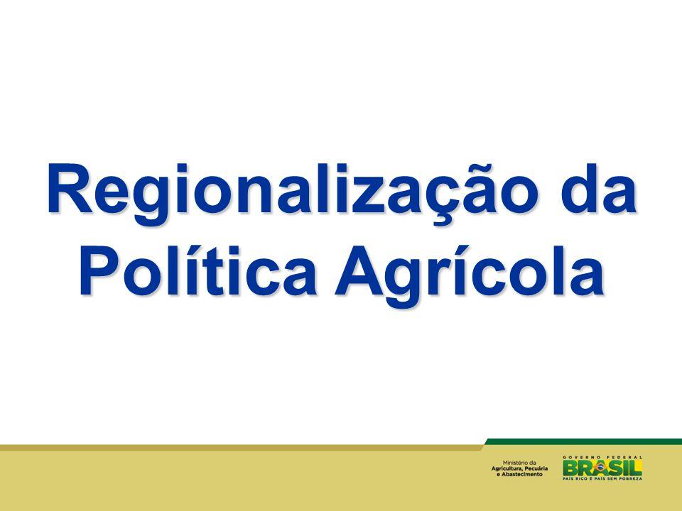 Regionalização da Política Agrícola