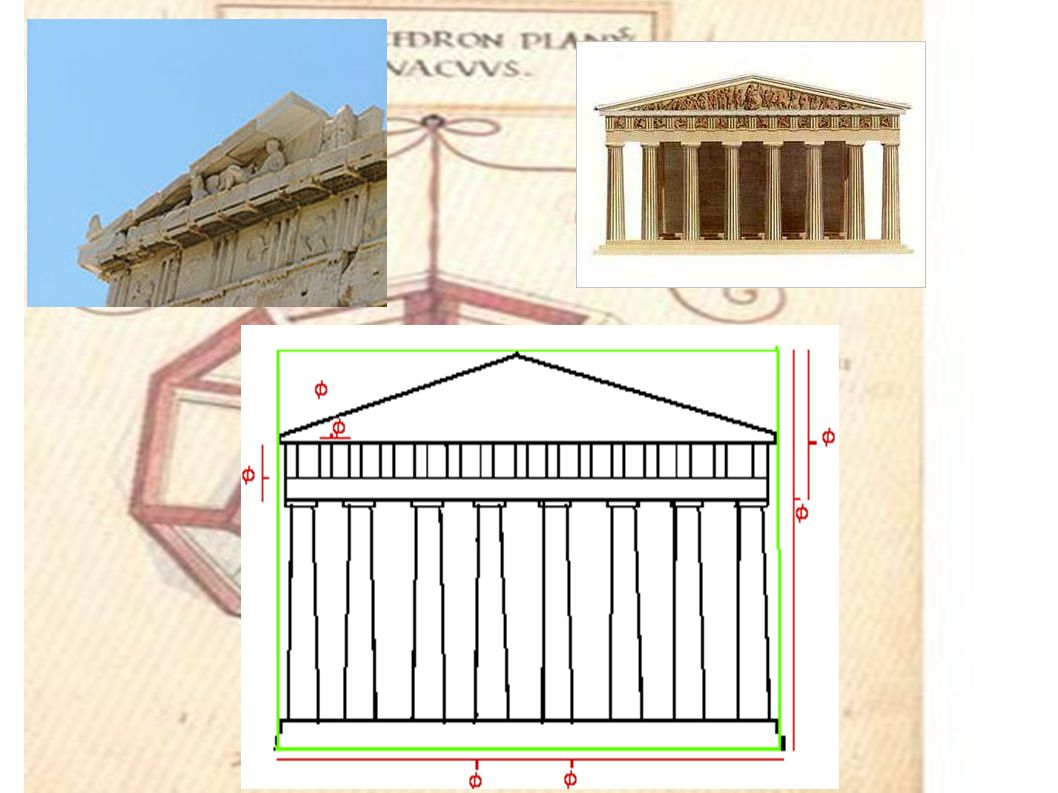 It is impossible to be sure if PHI was used in the Parthenon.