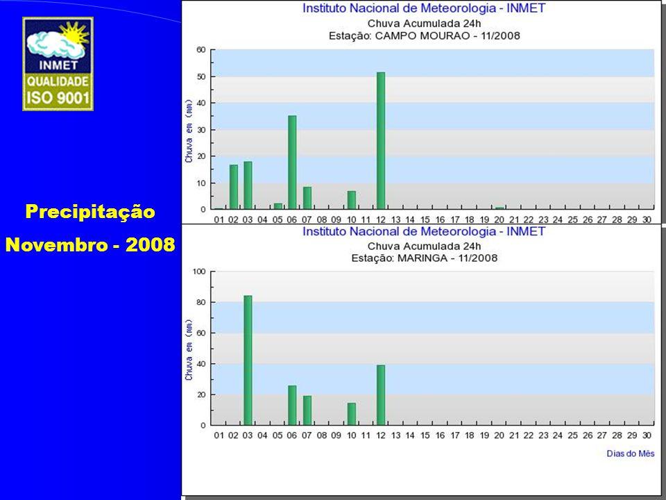 Precipitação Novembro - 2008