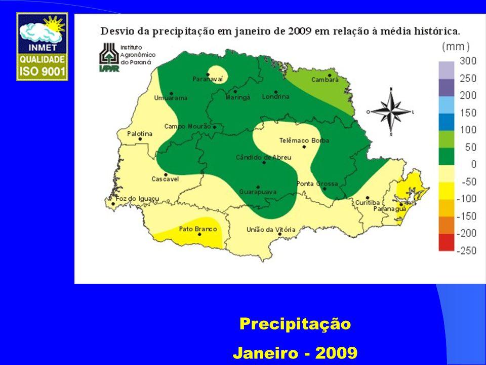 Precipitação Janeiro - 2009