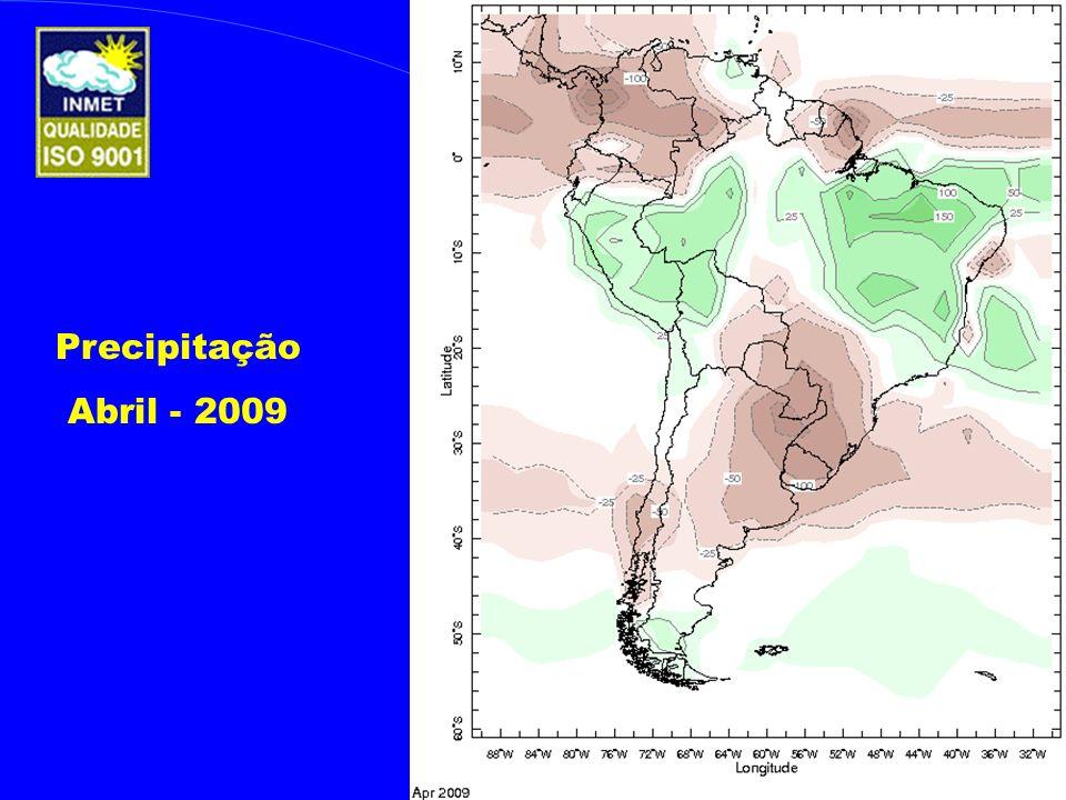 Precipitação Abril - 2009