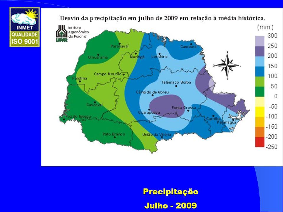 Precipitação Julho - 2009