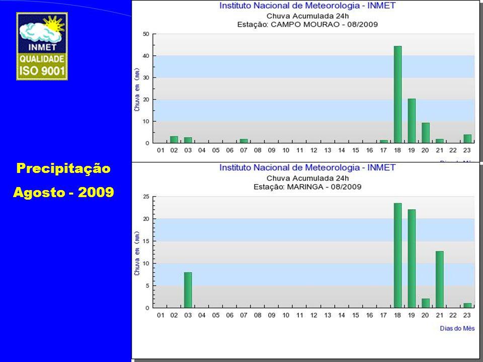 Precipitação Agosto - 2009
