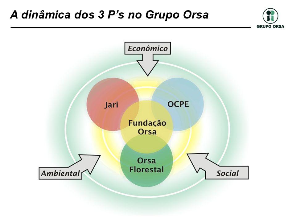 A dinâmica dos 3 Ps no Grupo Orsa