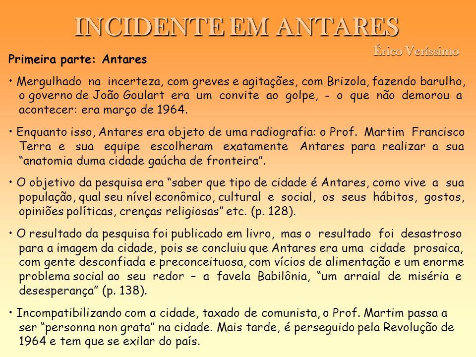 Primeira parte: Antares Mergulhado na incerteza, com greves e agitações, com Brizola, fazendo barulho, o governo de João Goulart era um convite ao gol
