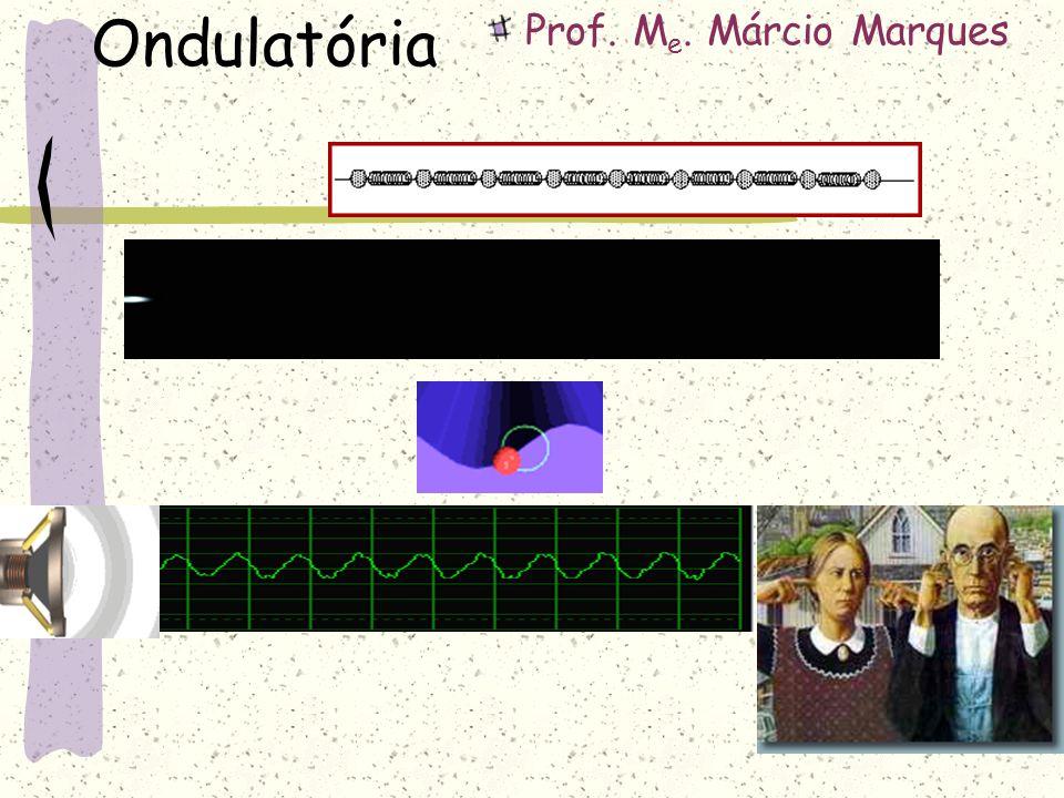 Ondulatória Prof. M e. Márcio Marques