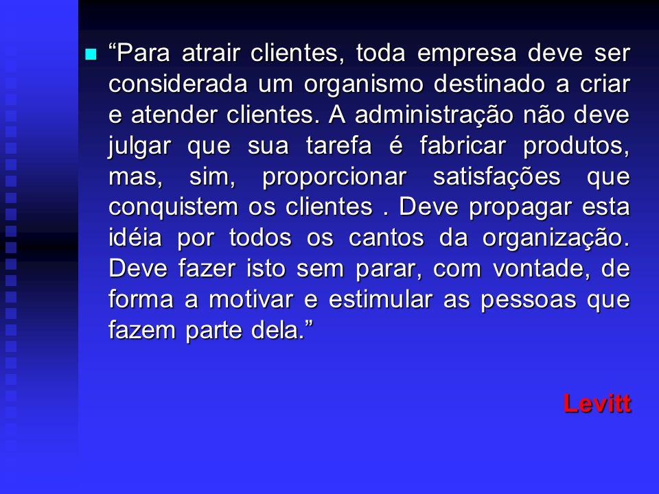 Importante Importante Aquisição e retenção de clientes; Aquisição e retenção de clientes; Conquistar e manter.