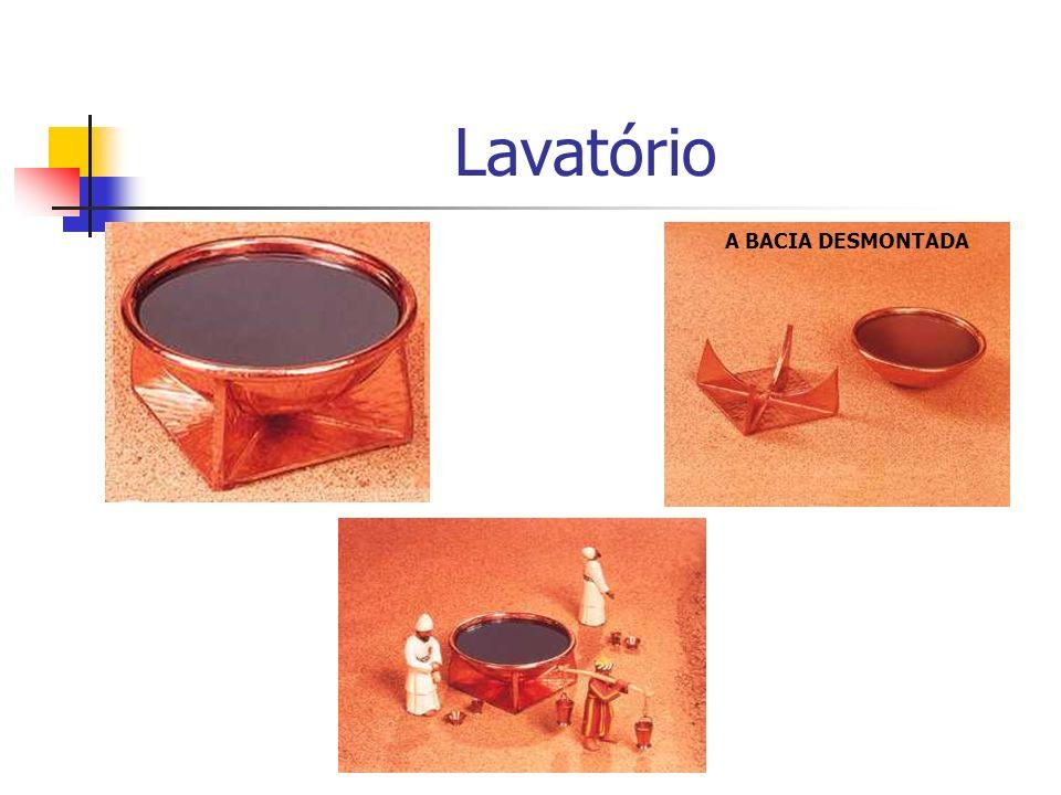 Lavatório A BACIA DESMONTADA