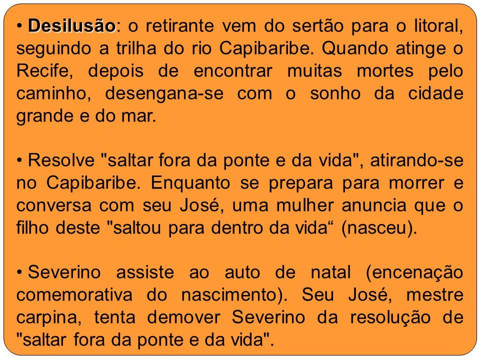Severino tenta individualizar-se Neste trecho, Severino se apresenta às pessoas e tenta individualizar-se.