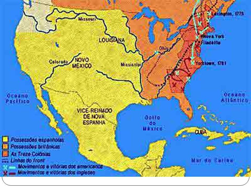 Em 1775 os ingleses atacaram Lexington e Concord.