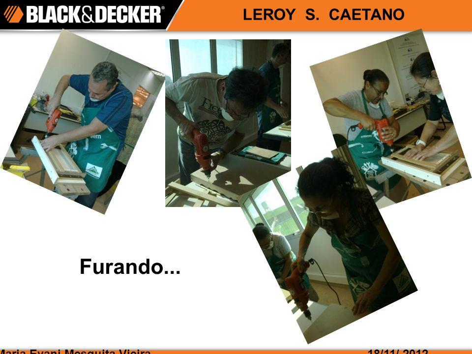 Maria Evani Mesquita Vieira18/11/ 2012 LEROY S. CAETANO Furando...