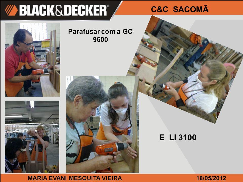 MARIA EVANI MESQUITA VIEIRA18/05/2012 C&C SACOMÃ Olha aí a turma!!!