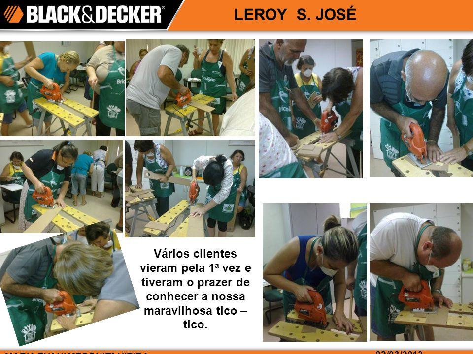 MARIA EVANI MESQUITA VIEIRA 02/03/2013 LEROY S.