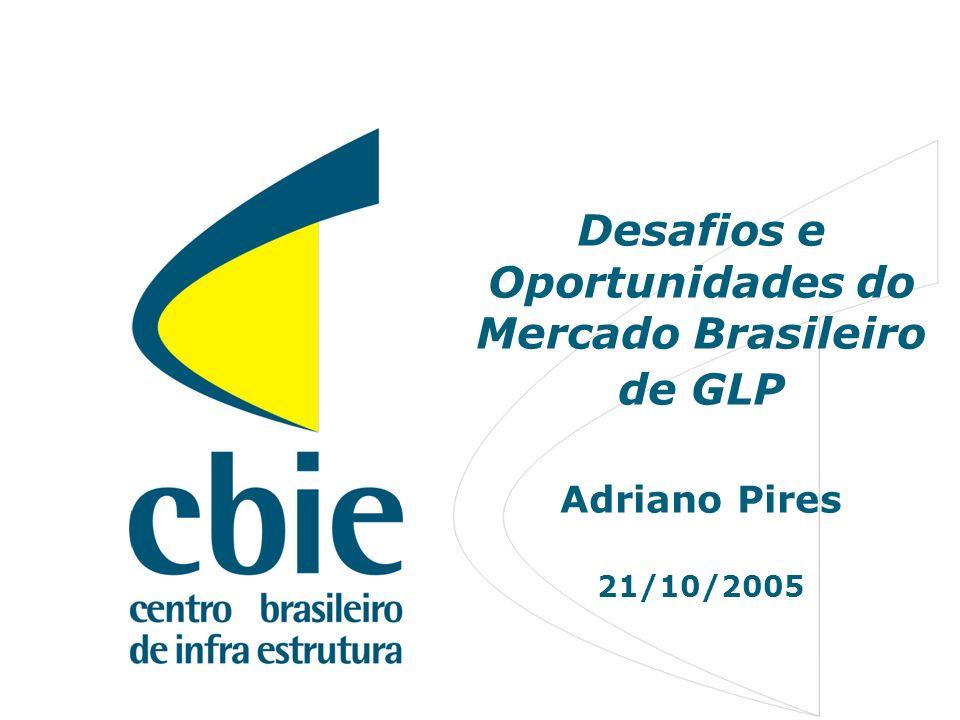 1 Desafios e Oportunidades do Mercado Brasileiro de GLP Adriano Pires 21/10/2005