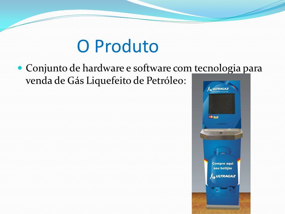 O Produto Conjunto de hardware e software com tecnologia para venda de Gás Liquefeito de Petróleo:
