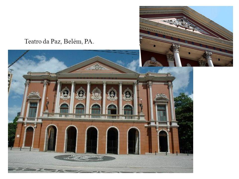 Teatro da Paz, Belém, PA.