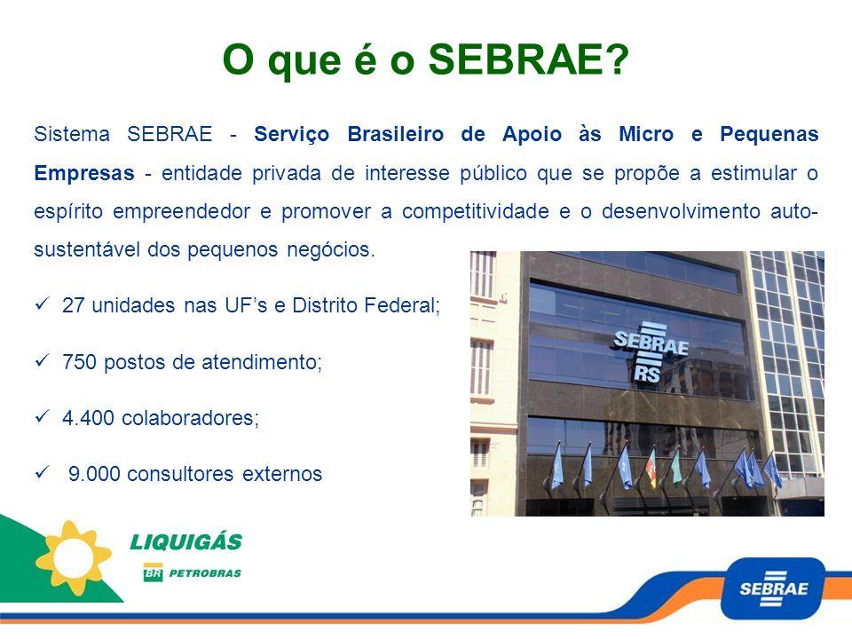 70 Micro e Pequenas Empresas revendedoras da Liquigás, no estado do Rio Grande do Sul.