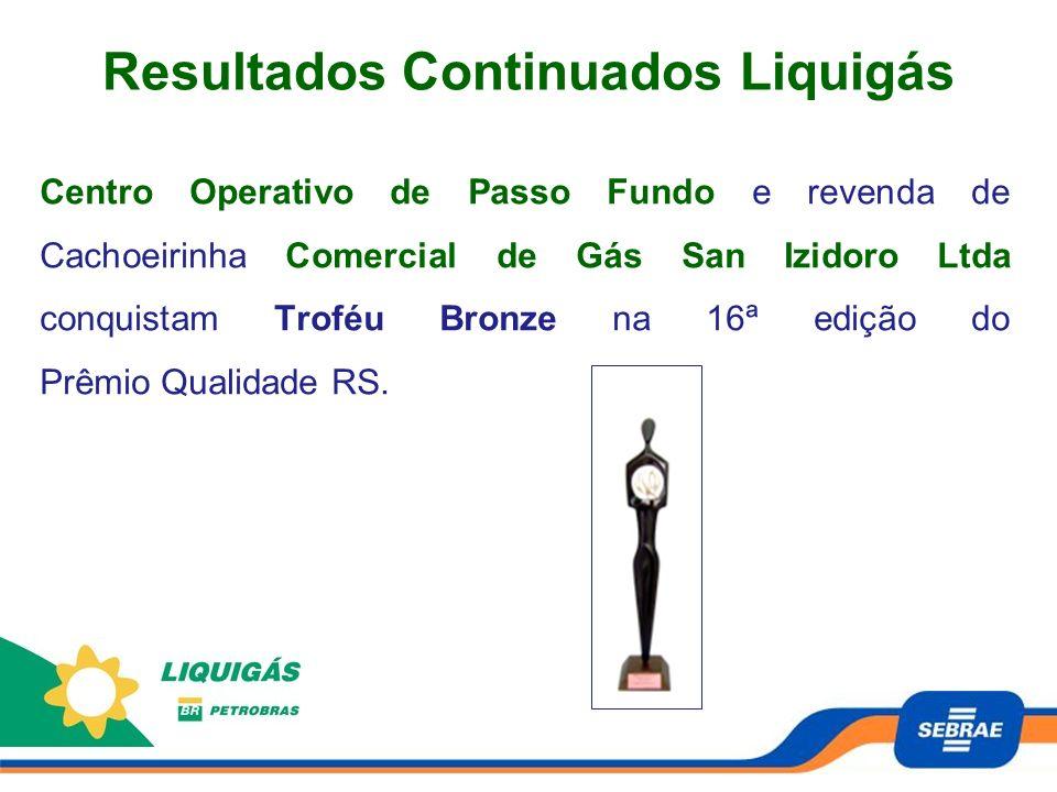 Centro Operativo de Passo Fundo e revenda de Cachoeirinha Comercial de Gás San Izidoro Ltda conquistam Troféu Bronze na 16ª edição do Prêmio Qualidade