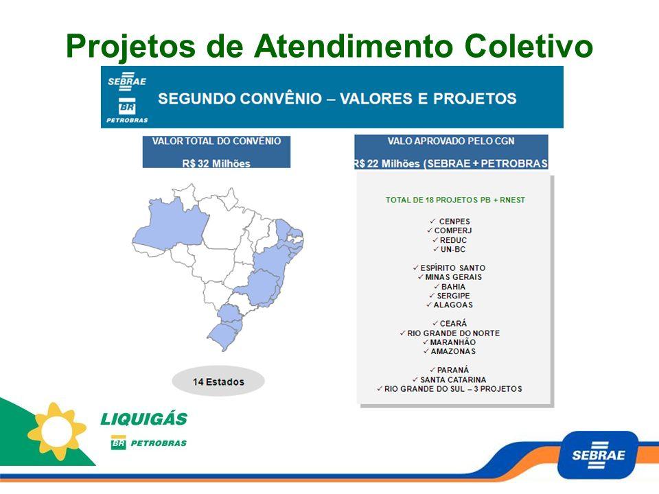 Histórico 2006 - SEBRAE PR foi procurado pela Liquigás Curitiba para desenvolver e implementar um plano de trabalho a 13 revendas da região.