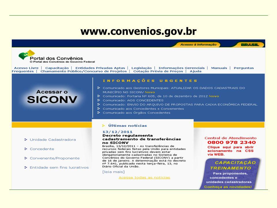 www.convenios.gov.br