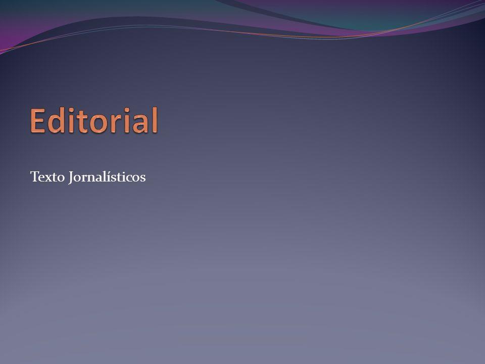 Texto Jornalísticos