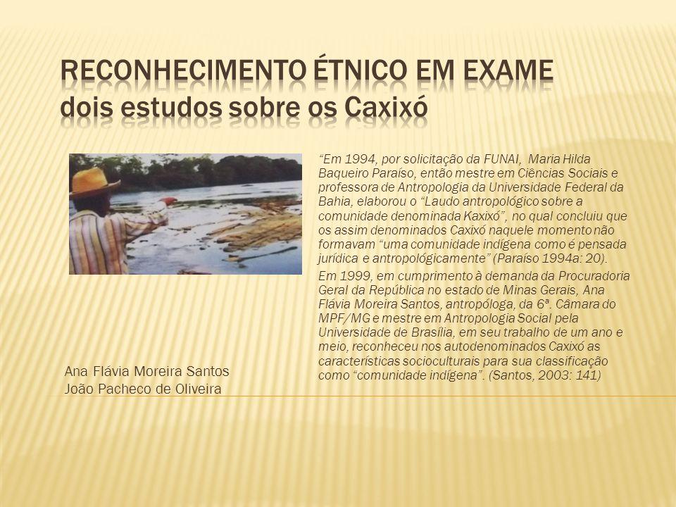 Em 1994, por solicitação da FUNAI, Maria Hilda Baqueiro Paraíso, então mestre em Ciências Sociais e professora de Antropologia da Universidade Federal