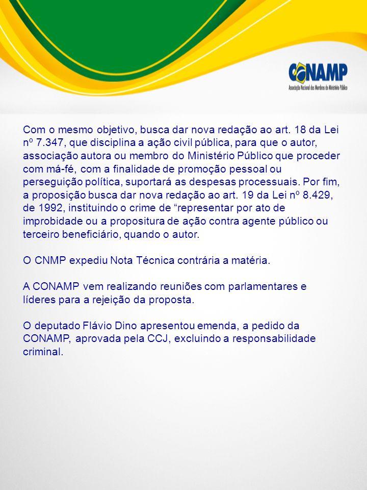 PL 6021/05 Autor: Dep.Carlos Sampaio (PSDB/SP) EMENTA Acrescenta § 3º ao art.
