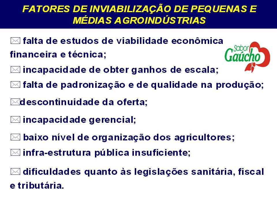 PROGRAMA DA AGROINDÚSTRIA FAMILIAR NOVAS MEDIDAS FACILITAM A IMPLEMENTAÇÃO DE AGROINDÚSTRIAS FAMILIARES