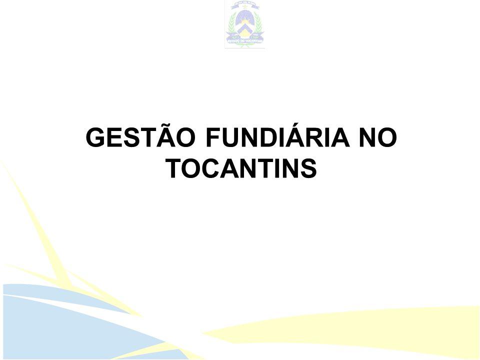 GESTÃO FUNDIÁRIA NO TOCANTINS