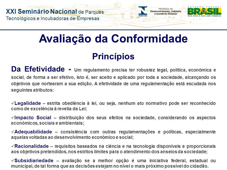 XXI Seminário Nacional de Parques Tecnológicos e Incubadoras de Empresas Instrumento de proteção e defesa do consumidor Instrumento de desenvolvimento