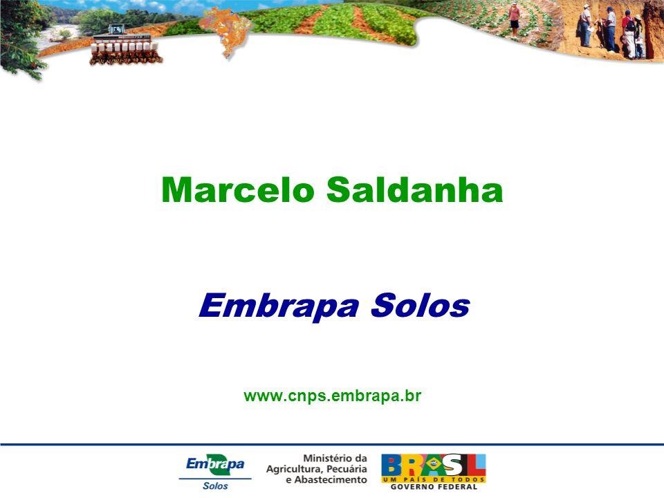 Marcelo Saldanha Embrapa Solos www.cnps.embrapa.br
