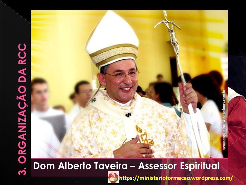https://ministerioformacao.wordpress.com/ Dom Alberto Taveira – Assessor Espiritual