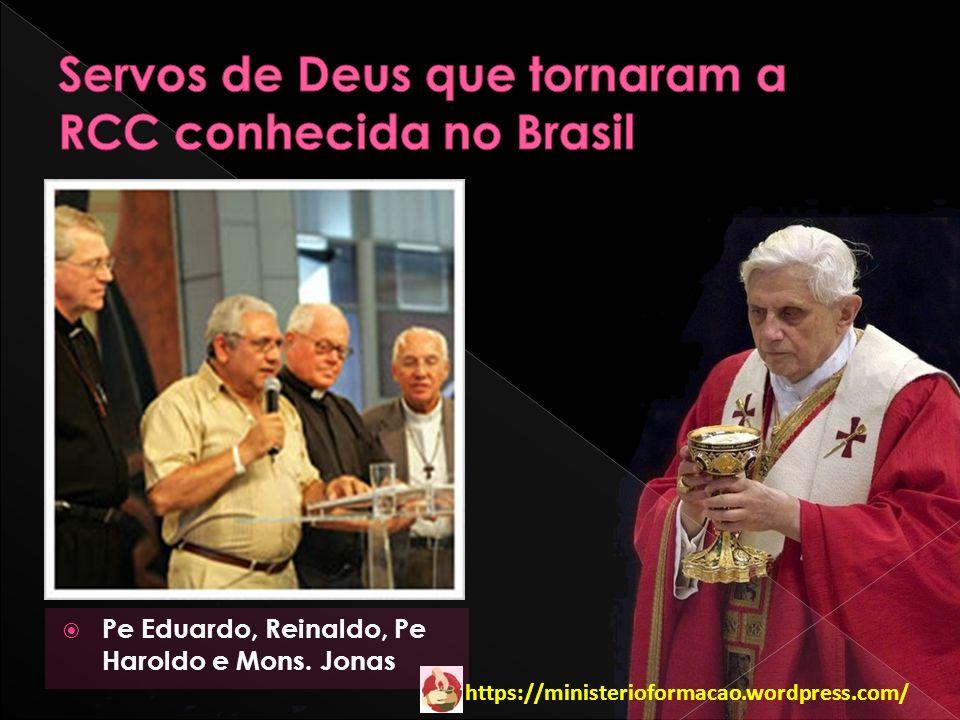 https://ministerioformacao.wordpress.com/ Pe Eduardo, Reinaldo, Pe Haroldo e Mons. Jonas