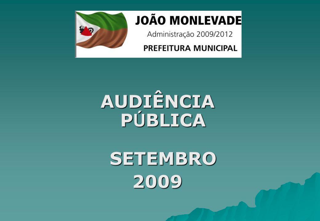 AUDIÊNCIA P Ú BLICA SETEMBRO 2009
