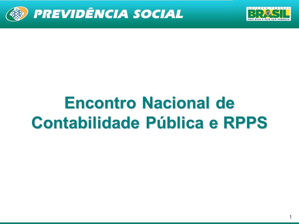 1 Encontro Nacional de Contabilidade Pública e RPPS
