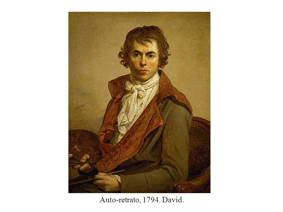 Auto-retrato, 1794. David.